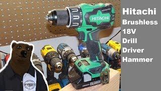 Hitachi 18V Drill Driver (Hammer Drill) Den Member Special!