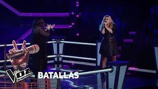 "Guadalupe vs Victoria - ""Por amarte así"" - Cristian Castro  - Batallas - La Voz Argentina 2018"