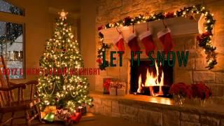 Boyz II Men ft. Brian McKnight-Let It Snow (with Live Fireplace & Snow HD)