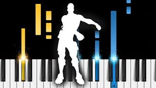 FORTNITE DANCES - Easy Piano Tutorial