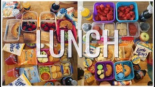 Summer Camp/School Lunch Ideas! 🍏 Week 18 | Sarah Rae Vlogas |