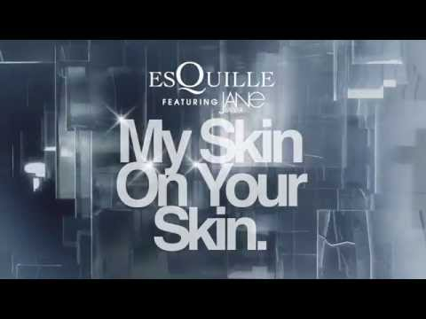 "EsQuille feat. Jane Badler - ""My Skin On Your Skin"" (Lyric video)"