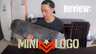 Mini Logo skateboard review (Are they worth it??)