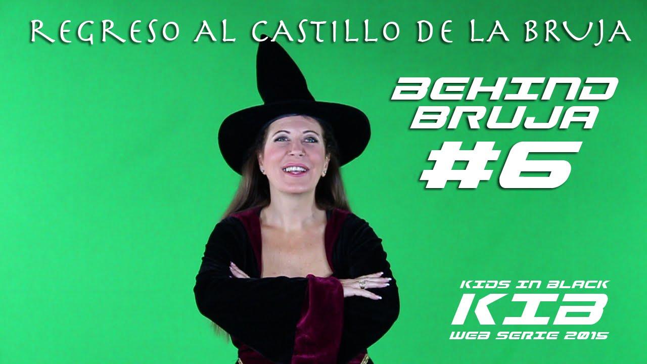 Regreso al Castillo de la Bruja - Kids In Black 2015 - Detrás de las cámaras - Bruja Maligna #6