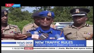 Tough day as police implement new traffic rules