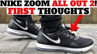 new nike zoom all out low 2 first thoughts  acronym x vapormax unboxing