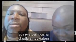 Pastor Mjosty Ediniwe ukuthi bathi udlile emngcwabeni