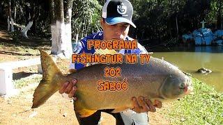 Programa Fishingtur na TV 202 - Muito frio e pescaria difícil no Pesqueiro Saboó
