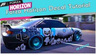 Forza Horizon 3 Decal Tutorial