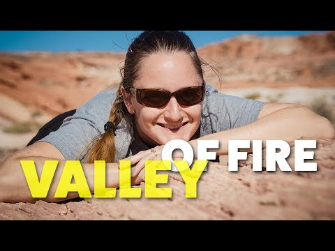 Finding Boondocking Outside Valley of Fire State Park & Hiking the Pastel Canyon