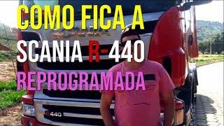 Scania 440 - Como fica depois de reprogramada