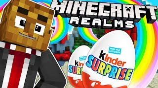 BRAND NEW SURPRISE EGG FACTORY TYCOON IN MINECRAFT REALMS | JeromeASF