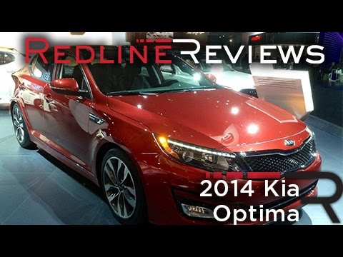 2014 Kia Optima - 2013 New York Auto Show