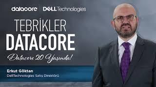 20. yılımızı övgüyle kutlayan Dell Technologies Satış Direktörü Erkut Goktan 'a gönülden teşekkü