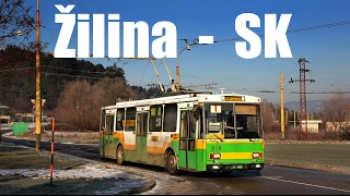 preview picture of video 'ŽILINA TROLLEYBUS - Trolejbus v Žiline (29.12.2012)'