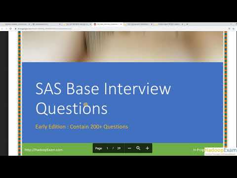 Top 165 SAS BASE INTERVIEW QUESTIONS ANSWERS - YouTube