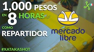 1,000 Pesos por 9 horas de trabajo: MERCADO LIBRE busca repartidores INDEPENDIENTES