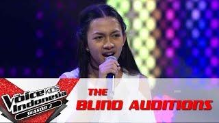"Elen ""Sepasang Mata Bola"" | The Blind Auditions | The Voice Kids Indonesia Season 2 GTV 2017"