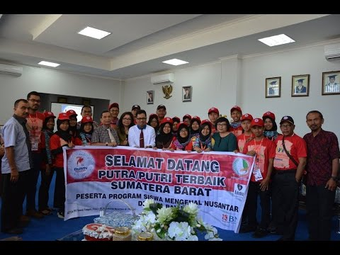 Dok Humas Untad, Selamat Datang Putra – Putri Terbaik Sumatera Barat, dalam Program Siswa Mengenal Nusantara Di Universitas Tadulako Kota Palu