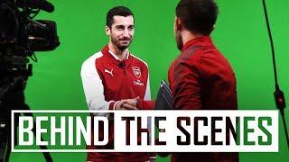 Henrikh Mkhitaryan signs for Arsenal | Behind-the-scenes