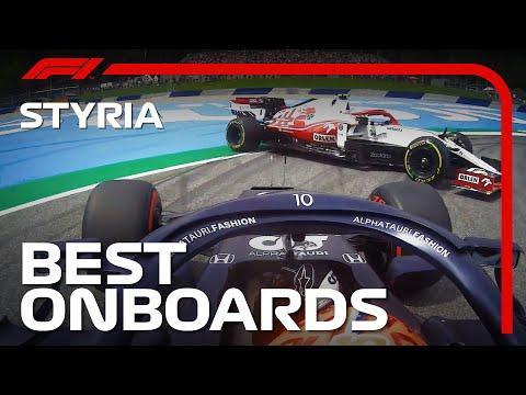 F1第8戦オーストリアGPのオンボード映像まとめ