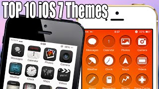 TOP 10 iOS 7 Winterboard Themes - September 2014
