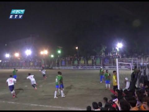 মরহুম আনসার আলী গোল্ডকাপ ফুটবলে চ্যাম্পিয়ন ঘাটারচর | ETV News