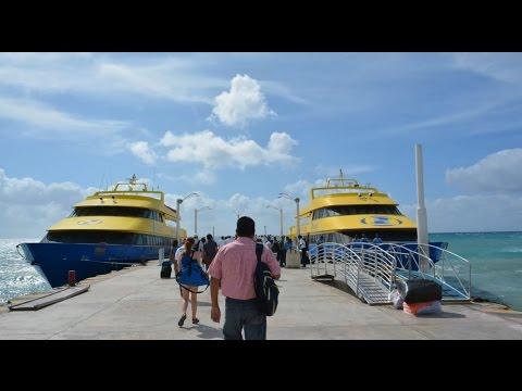 Ferry de Playa del Carmen a Cozumel – Mexico