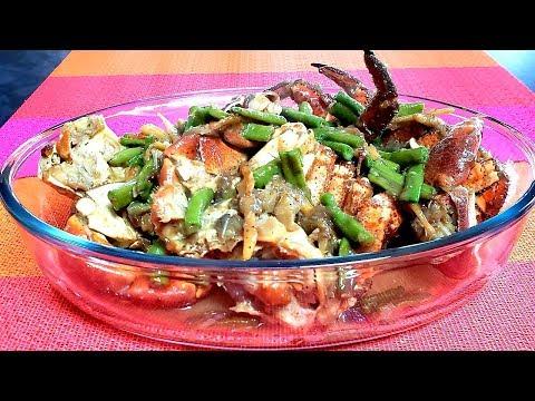 Crabs Cooked In Coconut Milk Recipe