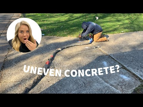 Leveling and Stabilizing Concrete Drive with PolyLevel