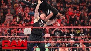 RAW: Lynch vs. Rousey a escenificarse en WrestleMania 35; Rollins masacrado por Lesnar; Moon lesiona