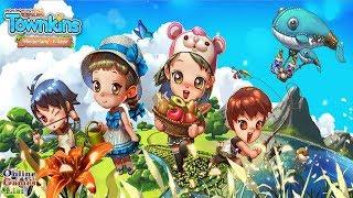 Townkins: Wonderland Village (Android iOS) Gameplay ᴴᴰ