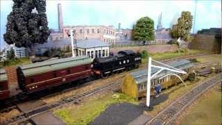 preview picture of video 'Northolt Model Railway Exhibition, 08/09/12'
