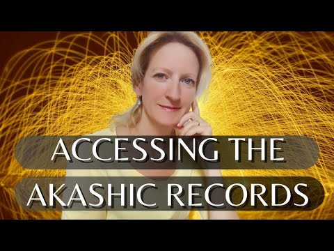HOW TO ACCESS THE AKASHIC RECORDS - TUTORIAL - (this works!!!) Mel Rentmeister