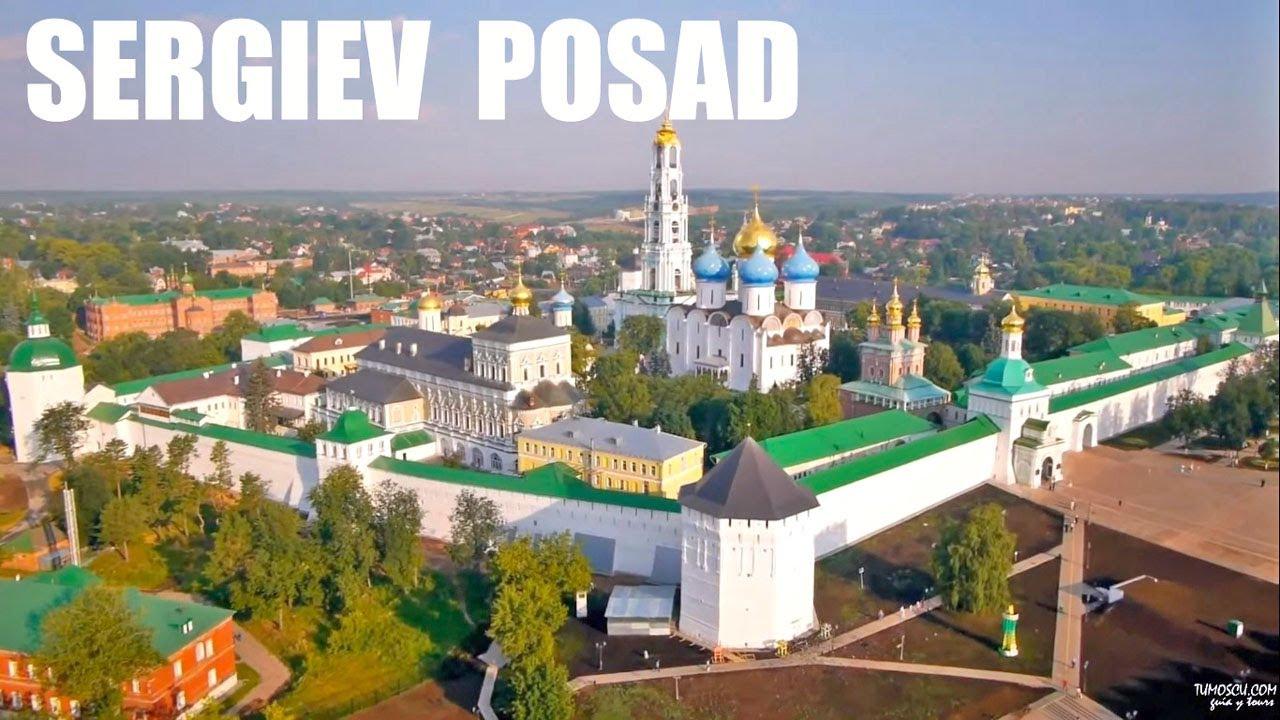 Sergiev Posad, Anillo de oro de Rusia. Video tour 3 min