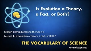 01.01. Is Evolution a Theory, a Fact, or Both?