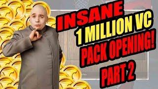 INSANE 1 MILLION VC PACK OPENING!! (Pt.2) - NBA 2K16 MyTeam Pack Opening