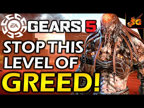 GEARS 5 CONTINUES TO BE RUINED BY GREED! Horrible Pricing, Lazy Cosmetics, Awful Rewards, & More!