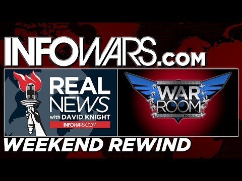 🗽  REAL NEWS 🚨 WAR ROOM • Commercial Free • WEEKEND REWIND •  Alex Jones Infowars Stream
