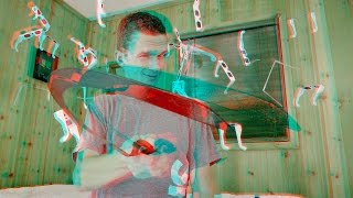 3D Video EXTREME!!! Knife