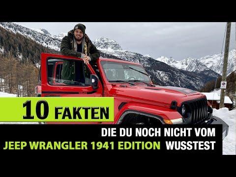 10 Fakten❗️die DU über den Jeep Wrangler 1941 by Mopar wissen solltest! Review | Fahrbericht | Test.