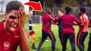 I Got REVENGE On The Football Team That BEAT ME UP After My Soccer Match