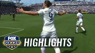 Watch 2 incredible debut goals by Zlatan Ibrahimovic | 2018 MLS Highlights