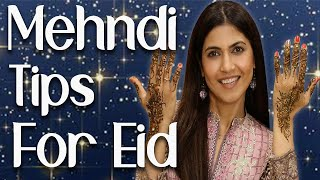 Mehndi Tips For Eid / Easy Beautiful Mehndi, Henna Designs - Ghazal Siddique