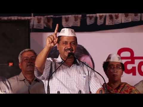 Delhi CM Arvind Kejriwal tell people the benefit of full statehood to Delhi at Jwala Nagar Shahdara