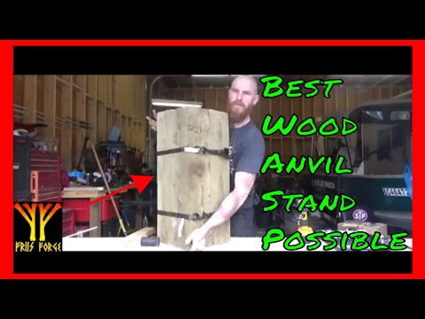 ✔ The Best Wood Anvil Stand Possible (1/2) Mp3