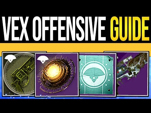 Destiny 2 | VEX OFFENSIVE & INVASIONS GUIDE! How to Find Gate Lords, Vex Weapons & New Quest!