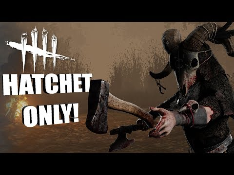 HATCHET ONLY! | Dead By Daylight THE HUNTRESS GAMEPLAY
