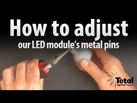 Malibu LED-8301-9601-01 LED module pin adjustment