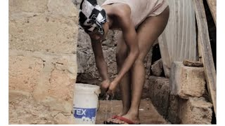 Too Much Spies On Akuapem Poloo Whiles Bathing